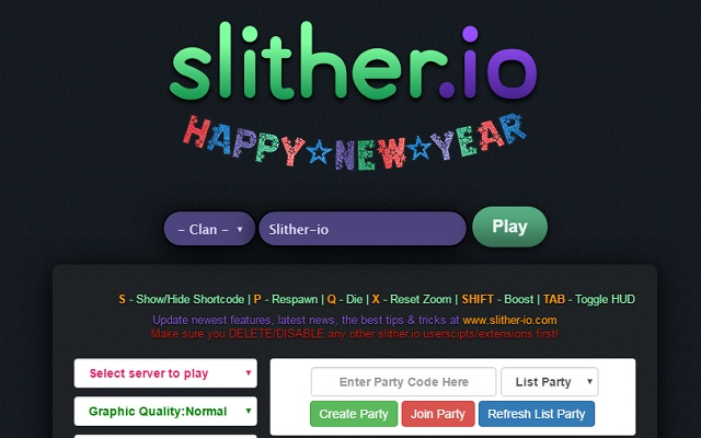 <b>Slither</b>.<b>io</b> Mods, Zoom, Unlock Skins, Bots