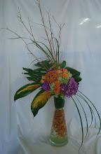 Photo: Fancy glass roses, dahlias, makara, orchids $75.00 each.
