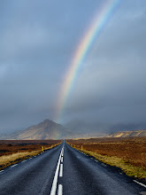 Photo: Road and Rainbow