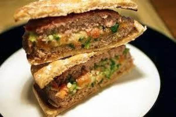 Italian Stuffed Burgers Recipe