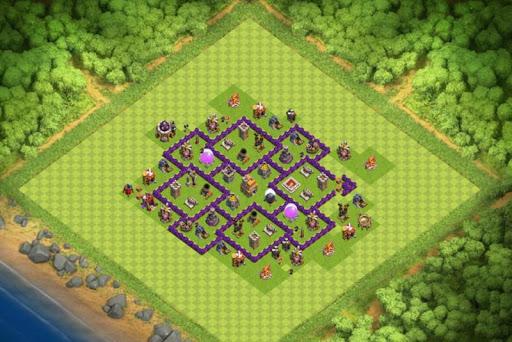 Map COC TH 7 Farming Base 1.0 screenshots 1