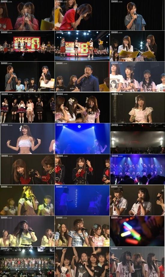 (LIVE)(公演) SKE48劇場8周年特別公演 + 夜祭トークショー + ミッドナイト公演 161004 161005