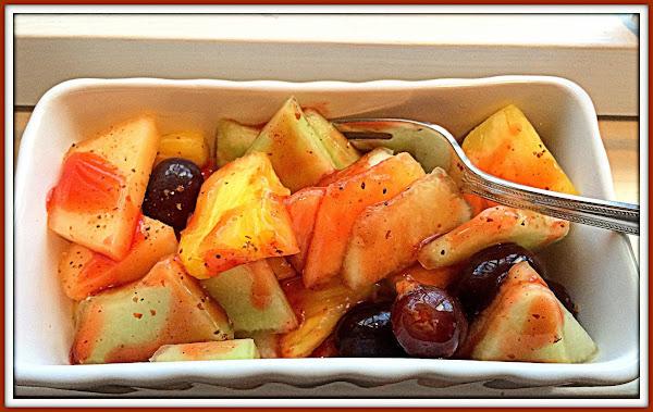Chamoy With Fresh Fruit Recipe
