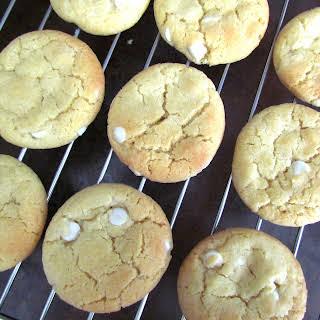 White Chocolate Chip Cookies.