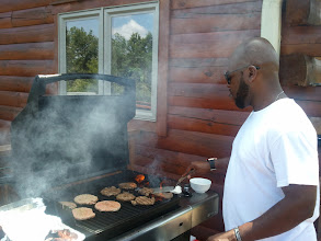 Photo: The grillmaster #2
