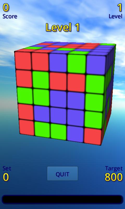 Color Cubes - screenshot