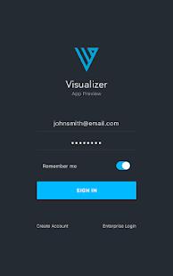 Kony Visualizer Tablet - náhled