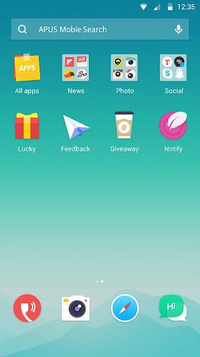 Dawn theme for APUS Launcher screenshot 2