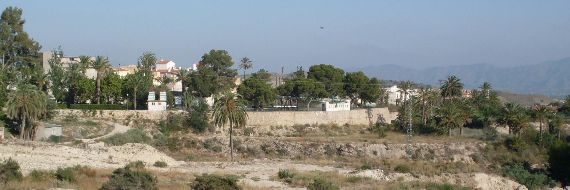 Terrenos junto a la Ermita en el año 2010