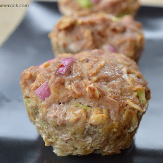 Turkey & Oat Meatloaf Muffins