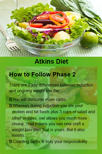 how to follow the atkins diet plan