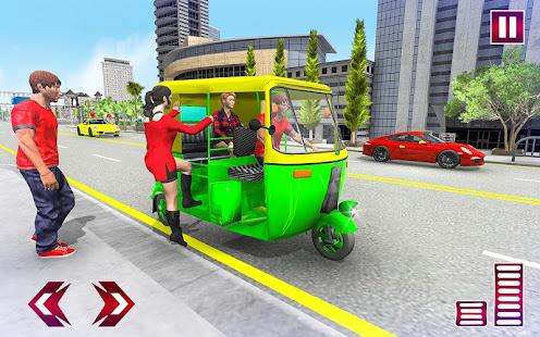Download City Tuk Tuk Rickshaw Simulator For PC Windows and Mac apk screenshot 7