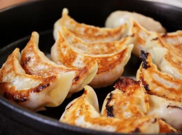 Yaki Gyoza Dumplings Recipe