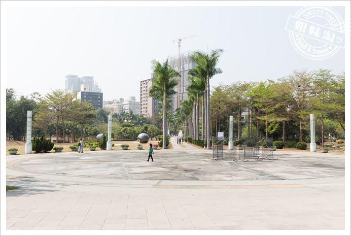 中央公園水廣場