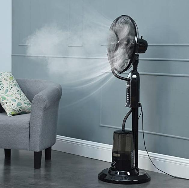 ventilateur brumisateur les 10