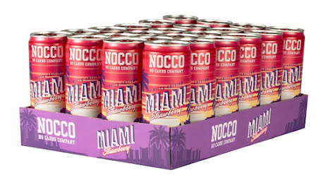 Nocco Miami Strawberry 24st x 330ml