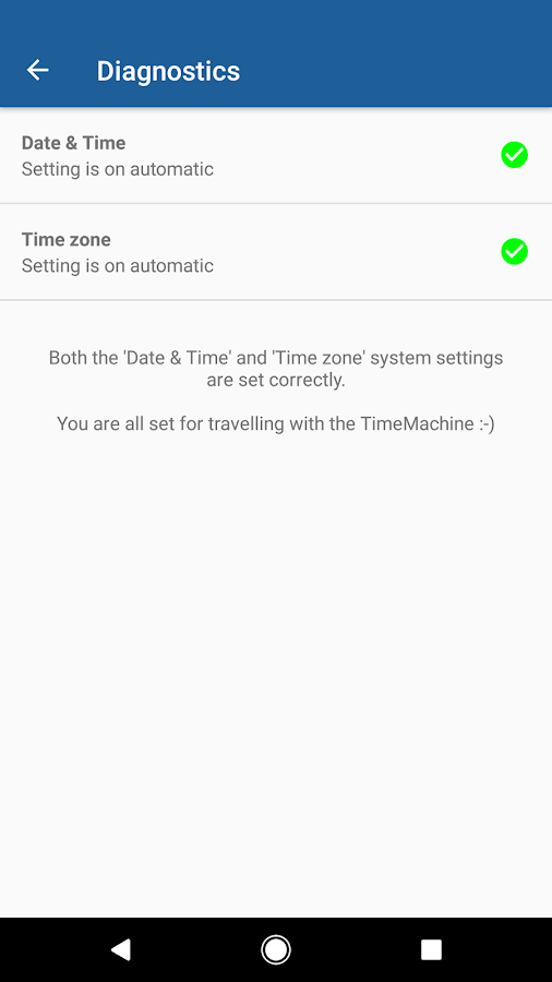 Time Machine - World Clock- screenshot