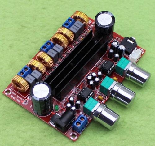 Mạch khuếch đại âm thanh classD 2.1 2x50W + 100W TPA3116D2