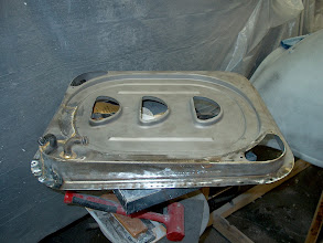 Photo: oringinal  69 1/2 440 6 pack air cleaner base , not a reproduction