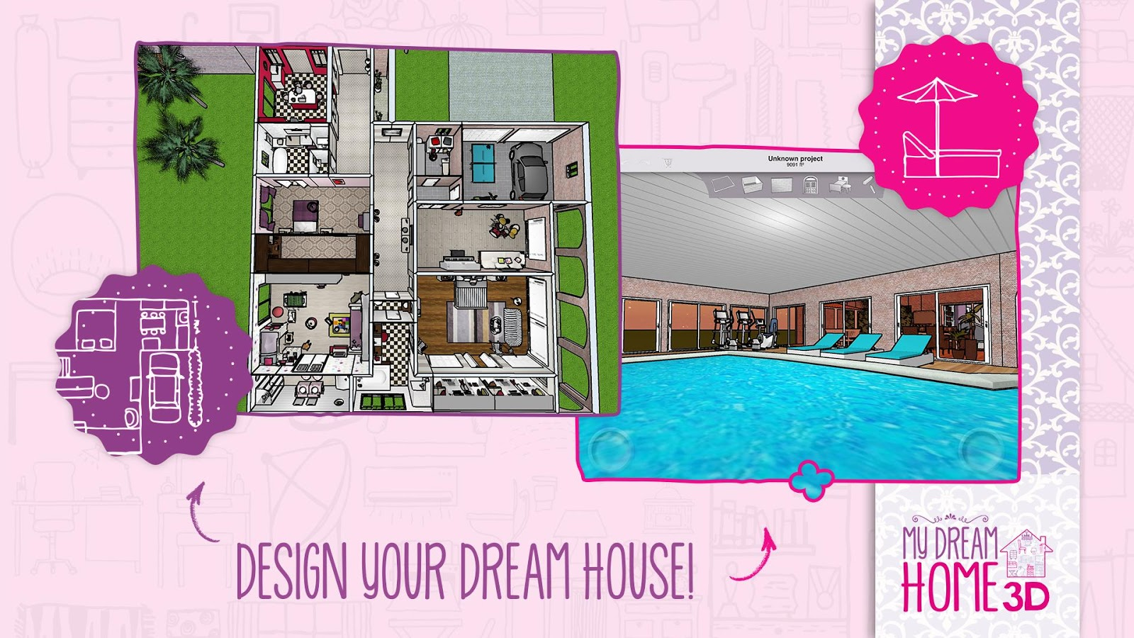 Home design 3d my dream home android apps on google play Create dream home