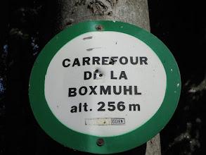 Photo: carrefour de la Boxmuhl
