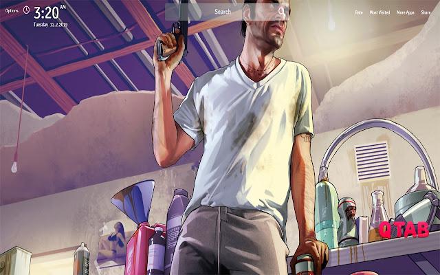Gta 5 Game Wallpapers Gta 5 Game New Tab