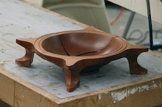 "Photo: ...and a ""three-way"" bowl in the ""flat"" position,"