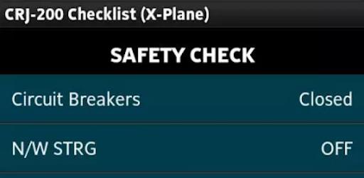 Checklist for CRJ-200 - Apps on Google Play