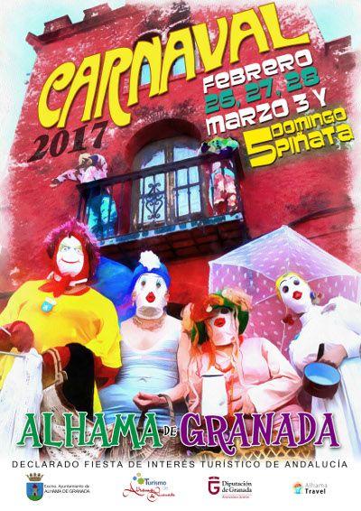 Evenement : Carnaval Alhama de Granada 2017