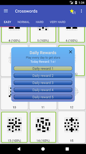 English Crossword puzzle 1.7.1 screenshots 7