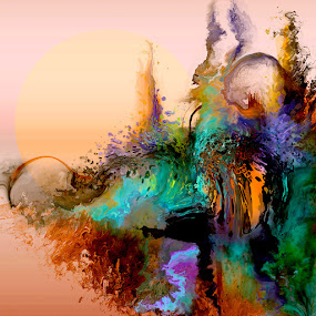 Soma by Glen Sande - Painting All Painting ( abstract, corel painter 2016, abstract art, soma, digital painting, painting )