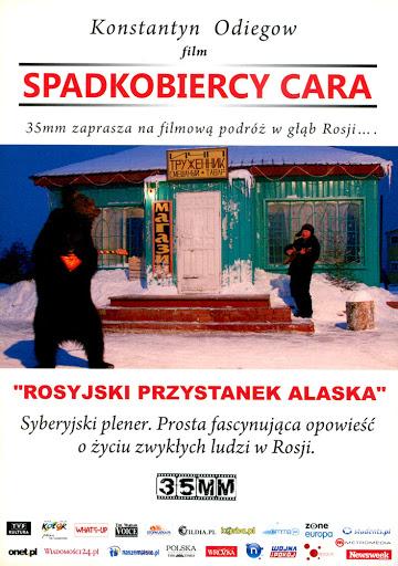 Przód ulotki filmu 'Spadkobiercy Cara'