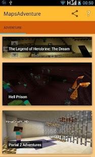 Adventure maps for mcpe screenshot