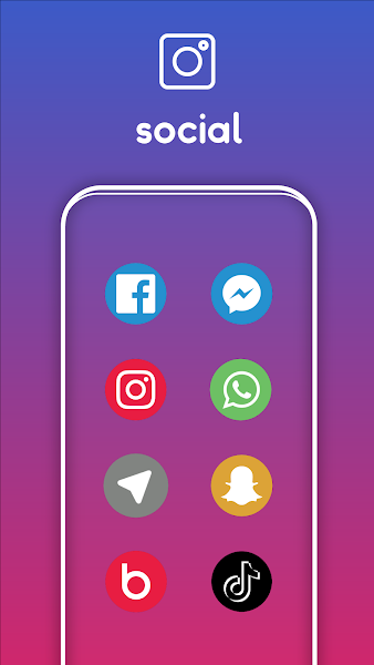 One UI Pixel - Icon Pack Screenshot Image
