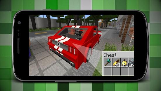 Sport Cars Mod for Minecraft MCPE - náhled