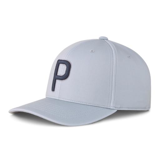 Puma Golf P110 Snapback Cap Ljusgrå