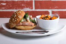Mediterranean Salmon Burger