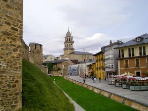 Photo: Etapa 22. Castillo de los Templarios i Basílica. Ponferrada.