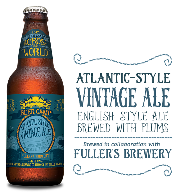 Logo of Sierra Nevada Beer Camp 2017: Atlantic-Style Vintage Ale (Fuller's Collab)
