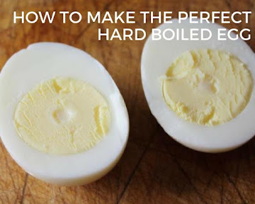 How To Make The Perfect Hard Boiled Egg Recipe