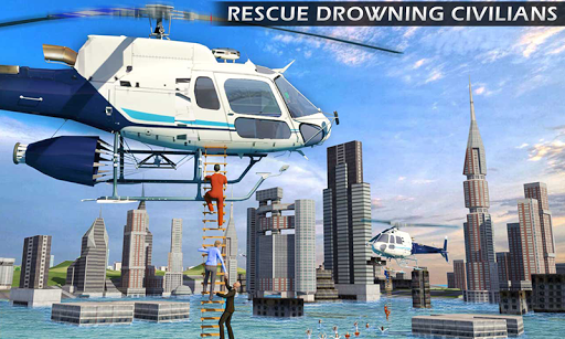 Heli Ambulance Rescue Team 3D Helicopter Simulator  screenshots 1