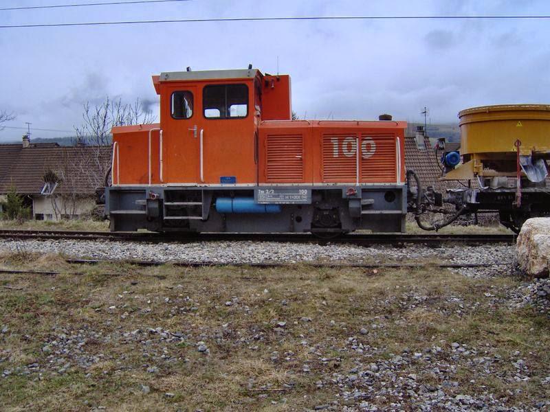 Train de travaux SGLM au Peychagnard