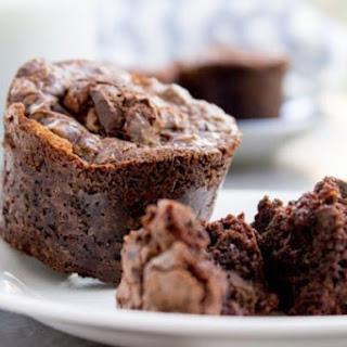 Easy Dark Chocolate Chunk Brownies