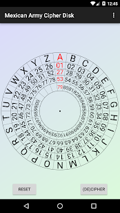 Mexican Army Cipher Disk - náhled