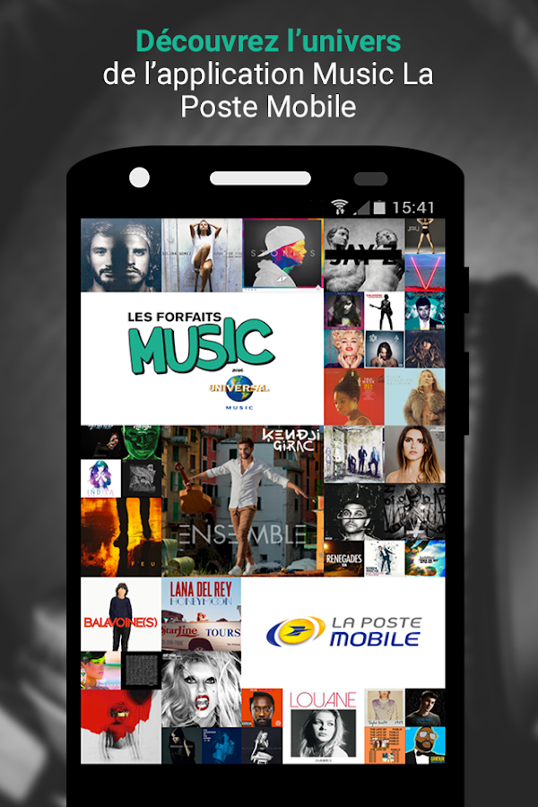 MUSIC La Poste Mobile – Capture d'écran