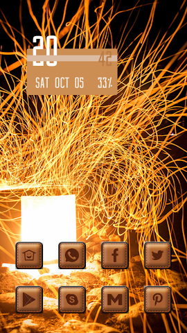 android Invisible flame Screenshot 0