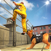 Prison Escape Police Dog Chase