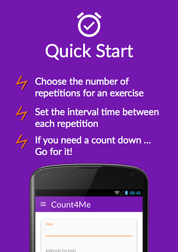 Count4Me HIIT Personal Trainer  screenshots 2