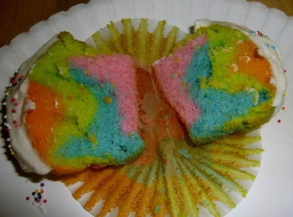 Tie-dye Cupcakes!