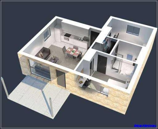 3Dハウスプランのインスピレーション